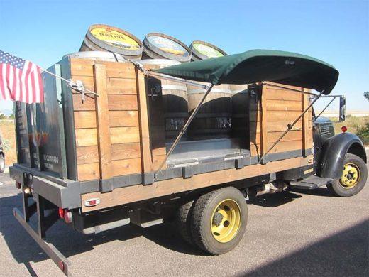 Beer Truck Bimini Top