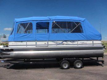 Custom Top Enclosure for Pontoons & Boat Covers Tops Enclosures and Flooring | Home | Pauls Custom ...