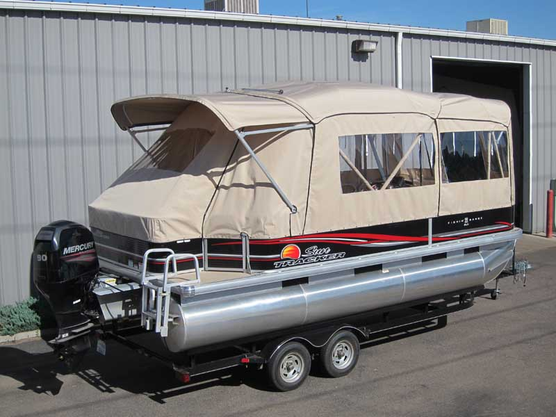 pontoon boat enclosures and covers