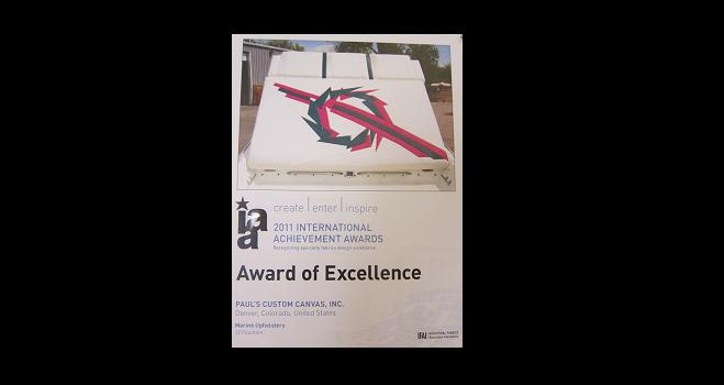 Marine Fabricators Association Award