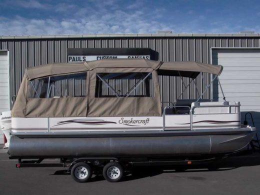 Custom Top Enclosure For Pontoon Boats