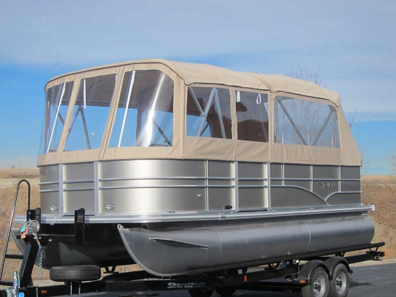 Pontoon Boat Enclosures And Covers Paul S Custom Canvas
