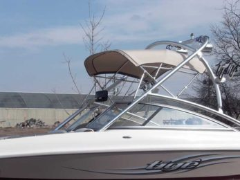 Custom Tower Bimini Top PCC