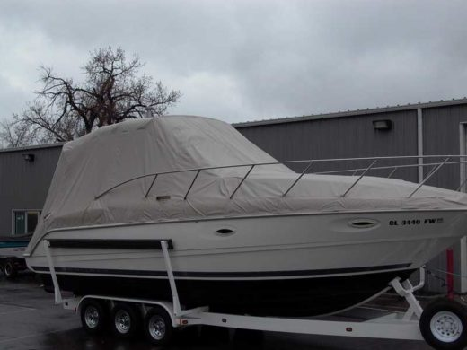 Big Boat Custom Cover Over Arch