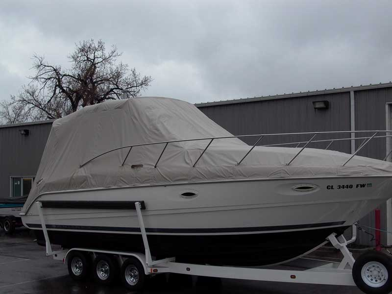 Cockpit Travel Covers Designed To Custom Fit Each Boat