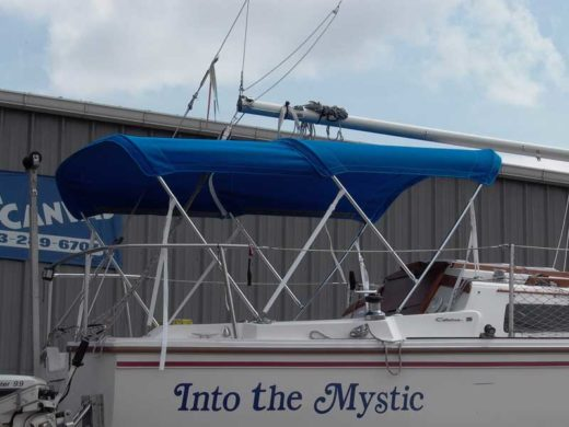 Custom Sail Boat Bimini Top